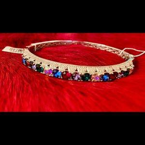 Swarovski Bangle bracelet Gorgeous Rainbow